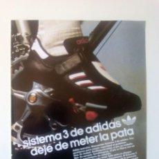 Coleccionismo deportivo: PUBLICIDAD CICLISMO 1987. SISTEMA 3 DE ADIDAS.. Lote 205673443