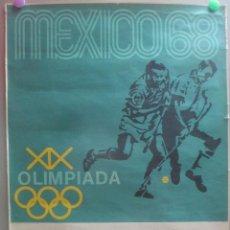 Coleccionismo deportivo: CARTEL DEPORTE HOCKEY XIX OLIMPIADA JUEGOS OIMPICOS MEJICO MEXICO 1968 68 ORIGINAL. Lote 205731582