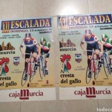 Coleccionismo deportivo: CARTEL CICLISMO XII ESCALADA CRESTA DEL GALLO MURCIA 96. Lote 205872187