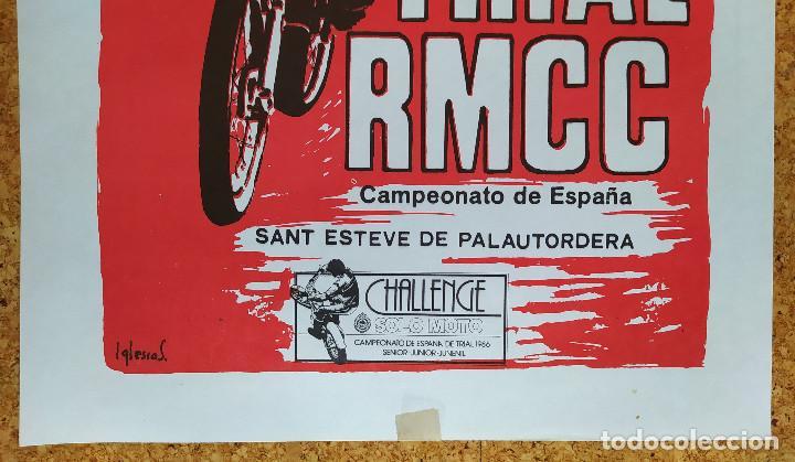 Coleccionismo deportivo: CARTEL O POSTER XV TRIAL RMCC - 23 de febrero de 1986 - Sant Esteve de Palautordera - Foto 2 - 207232298