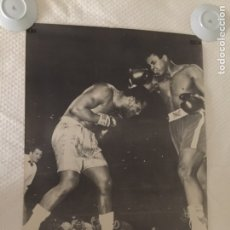 Coleccionismo deportivo: MUHAMMAD ALÍ CASSIUS CLAY V. JOE FRAZIER CARTEL ORIGINAL 1972. Lote 207276291