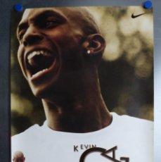 Coleccionismo deportivo: POSTER NIKE - BALONCESTO NBA - KEVIN GARNETT - 1997. Lote 208490500