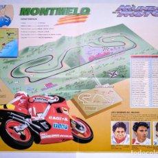 Coleccionismo deportivo: LOTE 4 CARTELES O POSTERS CIRCUITO MOTOGP. MOTOCICLISMO. EL MUNDO DE LA MOTO. MONTMELO. + 2 REGALO. Lote 208673227