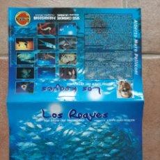 Coleccionismo deportivo: CALENDARIO PARED MARCA BUCEO NIMAR 1998 CON FOTOS DE LOS ROQUES EN VENEZUELA. Lote 210440845
