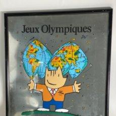 Coleccionismo deportivo: B-974. CARTEL JEUX OLYMPIQUES BARCELONA 92. AMIS POUR LA VIE. 1992. NUMERADO. Lote 211658359