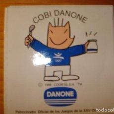 Coleccionismo deportivo: PEGATINA DEL COBI DE DANONE. Lote 212634628