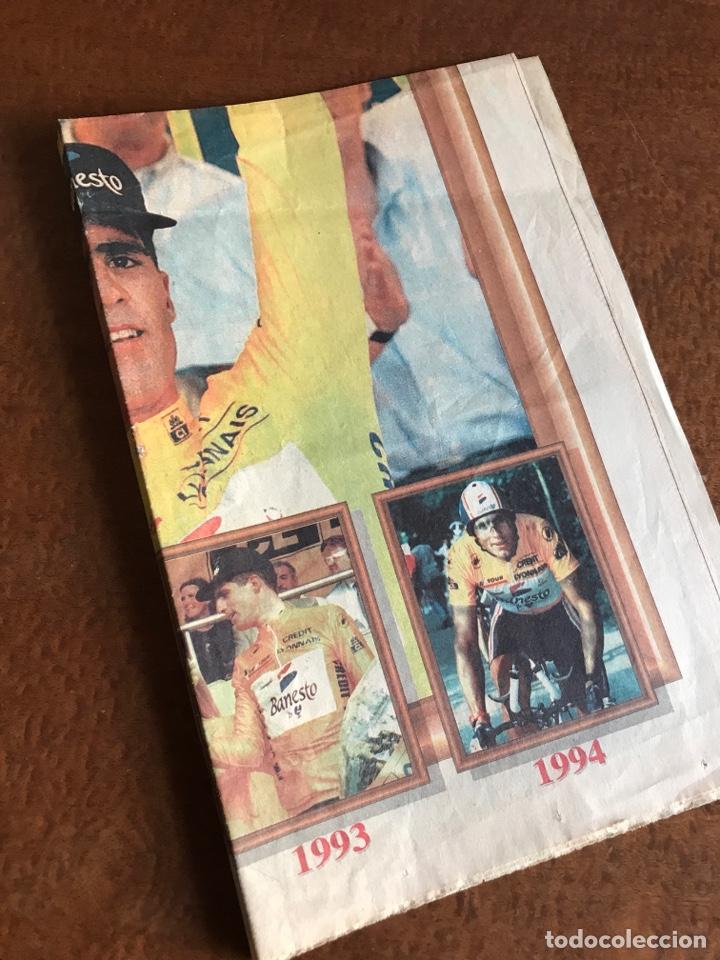 Coleccionismo deportivo: Envío 8€. Poster periodico MARCA, ¨¨Miguel Indurain rey de Francia¨ tour´ 95. mide 58x39cm. - Foto 6 - 213871351