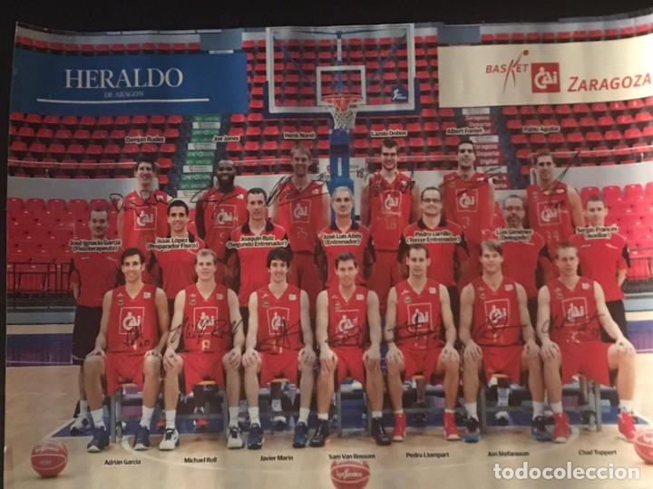 POSTER BALONCESTO CAI ZARAGOZA (Coleccionismo Deportivo - Carteles otros Deportes)
