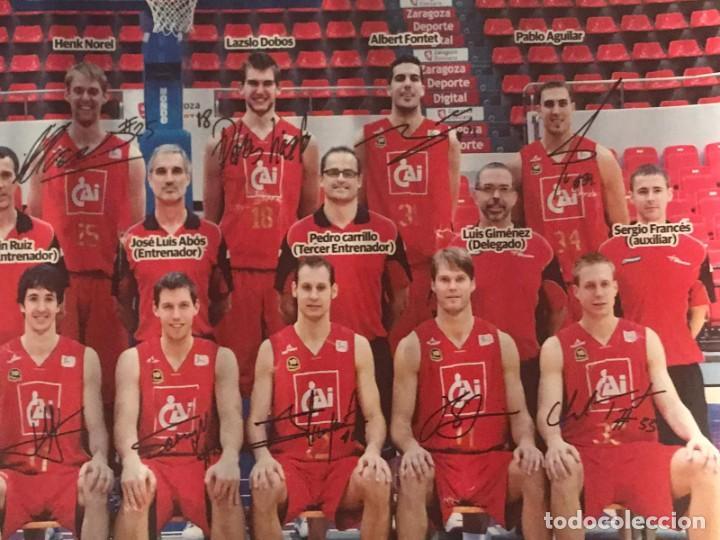 Coleccionismo deportivo: POSTER BALONCESTO CAI ZARAGOZA - Foto 2 - 214901870
