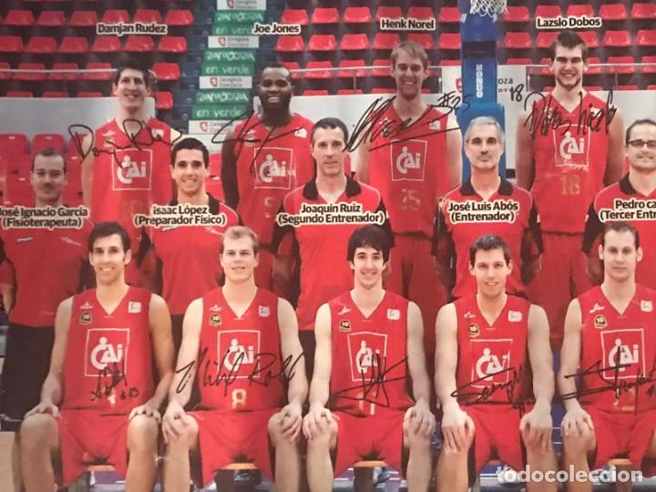 Coleccionismo deportivo: POSTER BALONCESTO CAI ZARAGOZA - Foto 3 - 214901870
