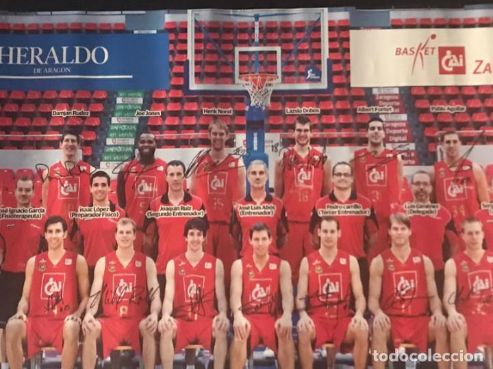 Coleccionismo deportivo: POSTER BALONCESTO CAI ZARAGOZA - Foto 4 - 214901870