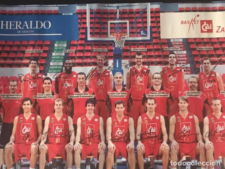Coleccionismo deportivo: POSTER BALONCESTO CAI ZARAGOZA - Foto 5 - 214901870