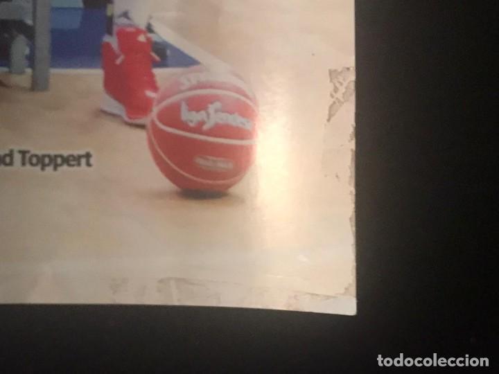 Coleccionismo deportivo: POSTER BALONCESTO CAI ZARAGOZA - Foto 6 - 214901870