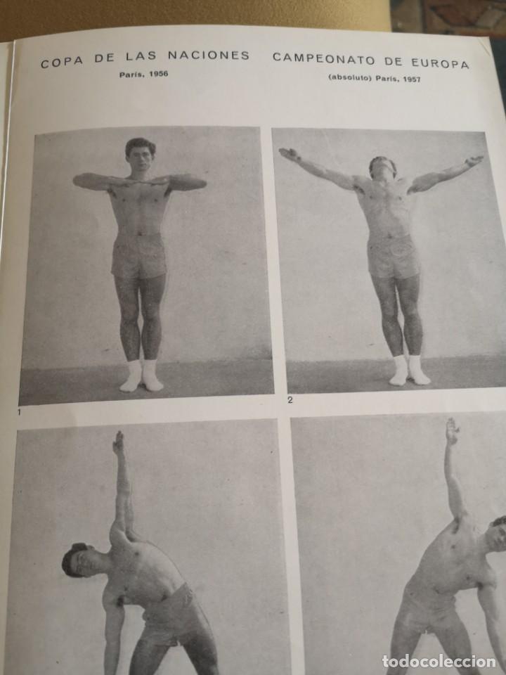 Coleccionismo deportivo: CARTEL JOAQUÍN BLUME 1958 EJERCICIOS GIMNASTICOS MUY BIEN CONSERVADO - Foto 6 - 215412425