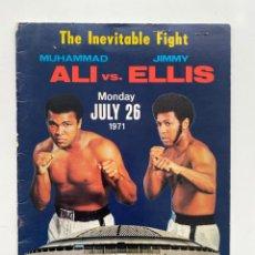 Coleccionismo deportivo: MUHAMMAD ALI VS. JIMMY ELLIS. 1971. BOLETOS DE LA PELEA. Lote 216588776