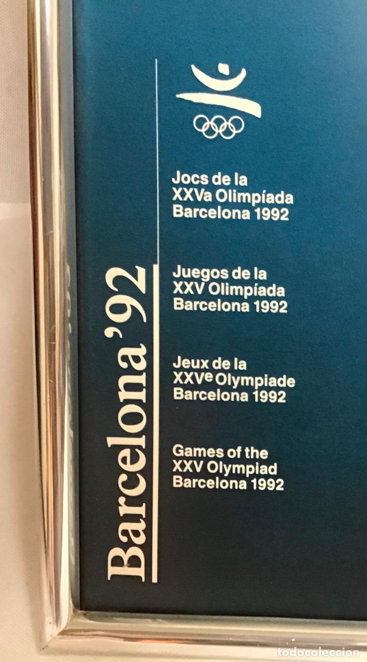 Coleccionismo deportivo: BARCELONA 92, PÓSTER DE REMO - Foto 2 - 218627226