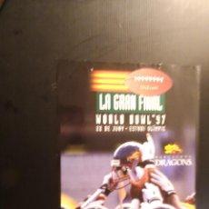 Coleccionismo deportivo: POSTER - CARTEL - BARCELONA DRAGONS - LA GRAN FINAL 1997. Lote 218815197