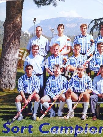 Coleccionismo deportivo: CARTEL DEL CLUB EGARA - SORT CAMPIONS - COPA DEUROPA BLOEMENDAAL ANY 2001 - - Foto 2 - 220493086