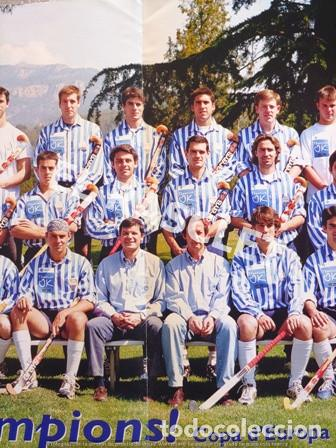 Coleccionismo deportivo: CARTEL DEL CLUB EGARA - SORT CAMPIONS - COPA DEUROPA BLOEMENDAAL ANY 2001 - - Foto 3 - 220493086