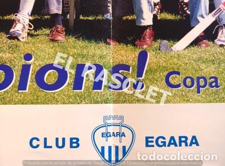 Coleccionismo deportivo: CARTEL DEL CLUB EGARA - SORT CAMPIONS - COPA DEUROPA BLOEMENDAAL ANY 2001 - - Foto 5 - 220493086