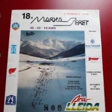 Coleccionismo deportivo: 3 CARTELES MARXA BERET ( ED. 18,19 Y 20). Lote 222308316