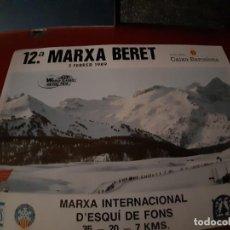 Coleccionismo deportivo: 3 CARTELES MARXA BERET (ED. 12,14 Y 16). Lote 222308480