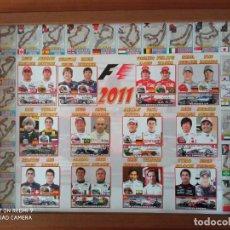 Coleccionismo deportivo: POSTER PLASTIFICADO Y ENMARCADO FORMULA 1 MUNDIAL 2011. TODOS LOS EQUIPOS. Lote 229821020
