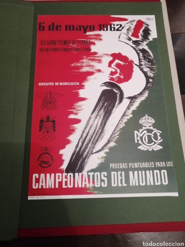 Coleccionismo deportivo: Lote de 12 Carteles Diferentes Premios y Campeonatos de Motociclismo - Foto 2 - 230267975