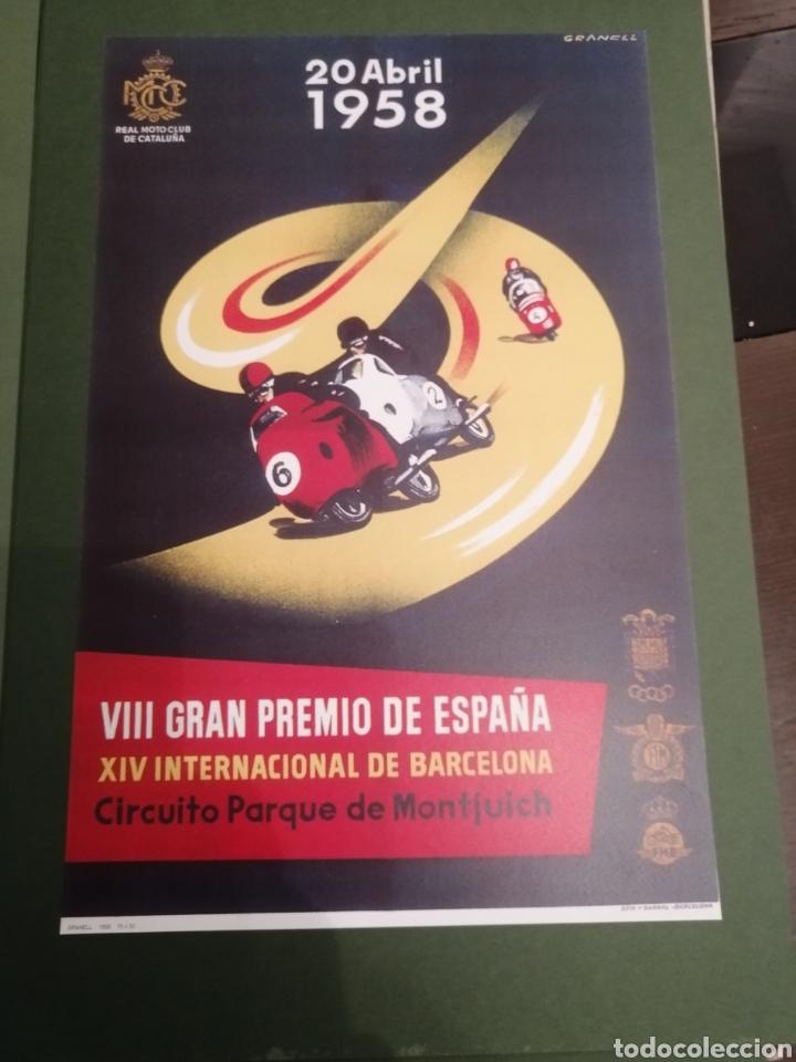 Coleccionismo deportivo: Lote de 12 Carteles Diferentes Premios y Campeonatos de Motociclismo - Foto 3 - 230267975
