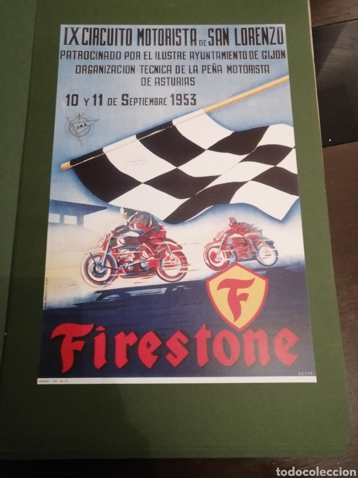 Coleccionismo deportivo: Lote de 12 Carteles Diferentes Premios y Campeonatos de Motociclismo - Foto 4 - 230267975