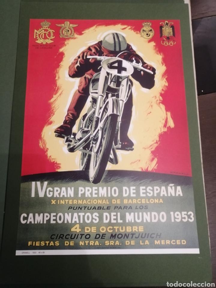 Coleccionismo deportivo: Lote de 12 Carteles Diferentes Premios y Campeonatos de Motociclismo - Foto 5 - 230267975