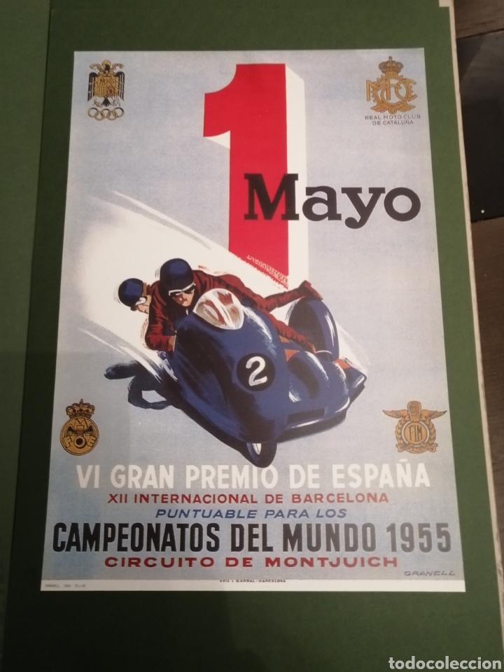 Coleccionismo deportivo: Lote de 12 Carteles Diferentes Premios y Campeonatos de Motociclismo - Foto 6 - 230267975