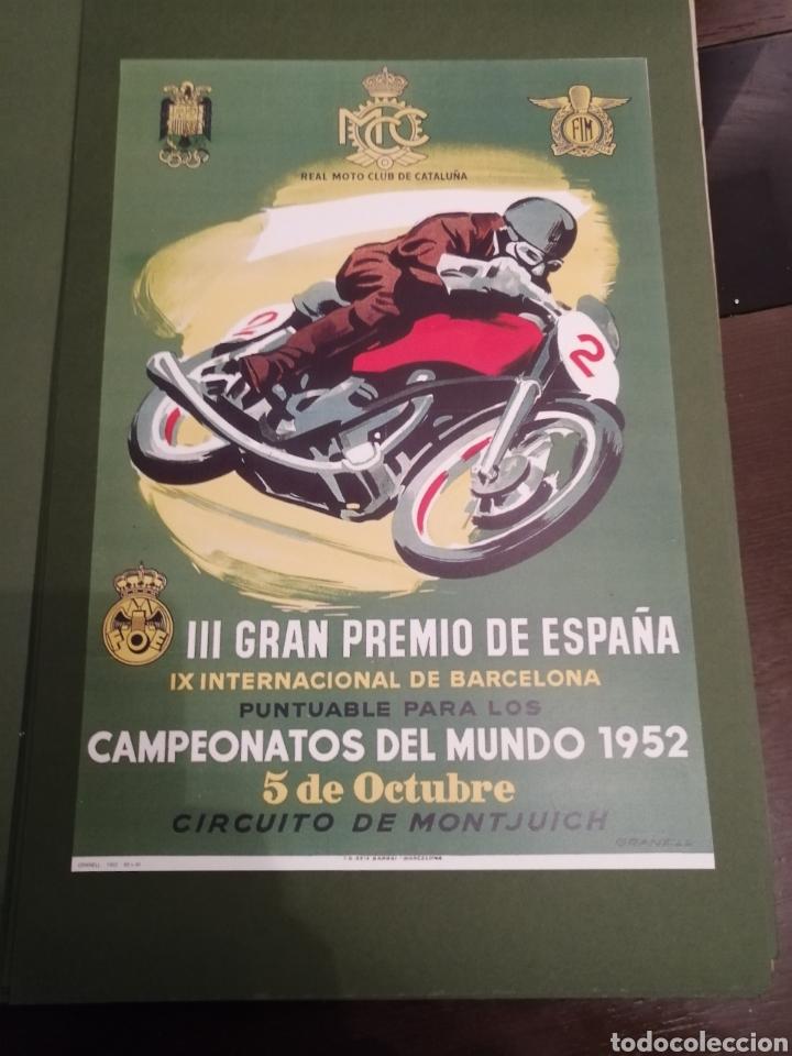 Coleccionismo deportivo: Lote de 12 Carteles Diferentes Premios y Campeonatos de Motociclismo - Foto 7 - 230267975