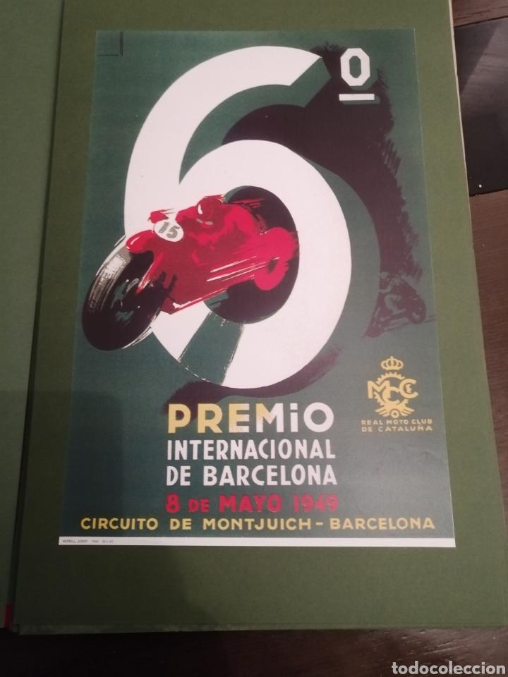 Coleccionismo deportivo: Lote de 12 Carteles Diferentes Premios y Campeonatos de Motociclismo - Foto 11 - 230267975