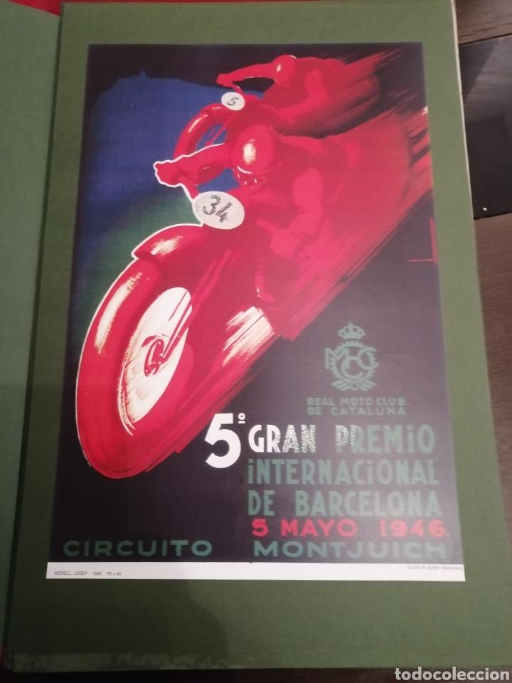 Coleccionismo deportivo: Lote de 12 Carteles Diferentes Premios y Campeonatos de Motociclismo - Foto 12 - 230267975