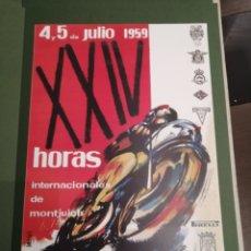 Coleccionismo deportivo: LOTE DE 12 CARTELES DIFERENTES PREMIOS Y CAMPEONATOS DE MOTOCICLISMO. Lote 230267975