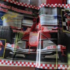 Coleccionismo deportivo: MICHEL SCHUMACHER 2004 - POSTER GIGANTE DE 60 X 80 - FERRRARI SIMPLEMENTE EL MEJOR - TOP F1. Lote 230724335
