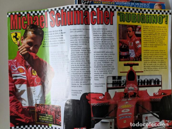 Coleccionismo deportivo: MICHEL SCHUMACHER 2004 - POSTER GIGANTE DE 60 X 80 - FERRRARI SIMPLEMENTE EL MEJOR - TOP F1 - Foto 4 - 230724335