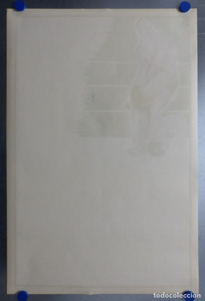 Coleccionismo deportivo: BOXEO Y LUCHA LIBRE - 4 CARTELES LITOGRAFICOS DEL AÑO 1963 - VER FOTOS ADICIONALES - Foto 7 - 234486760