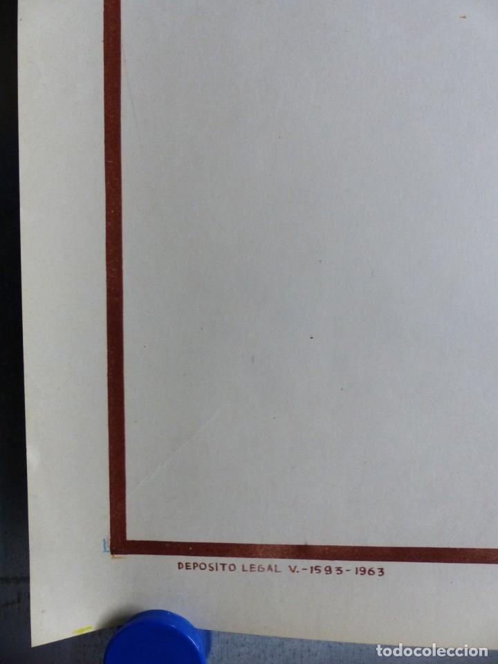 Coleccionismo deportivo: BOXEO Y LUCHA LIBRE - 4 CARTELES LITOGRAFICOS DEL AÑO 1963 - VER FOTOS ADICIONALES - Foto 9 - 234486760