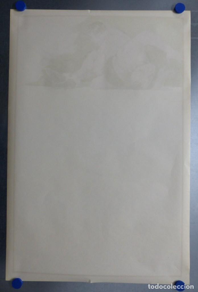 Coleccionismo deportivo: BOXEO Y LUCHA LIBRE - 4 CARTELES LITOGRAFICOS DEL AÑO 1963 - VER FOTOS ADICIONALES - Foto 13 - 234486760