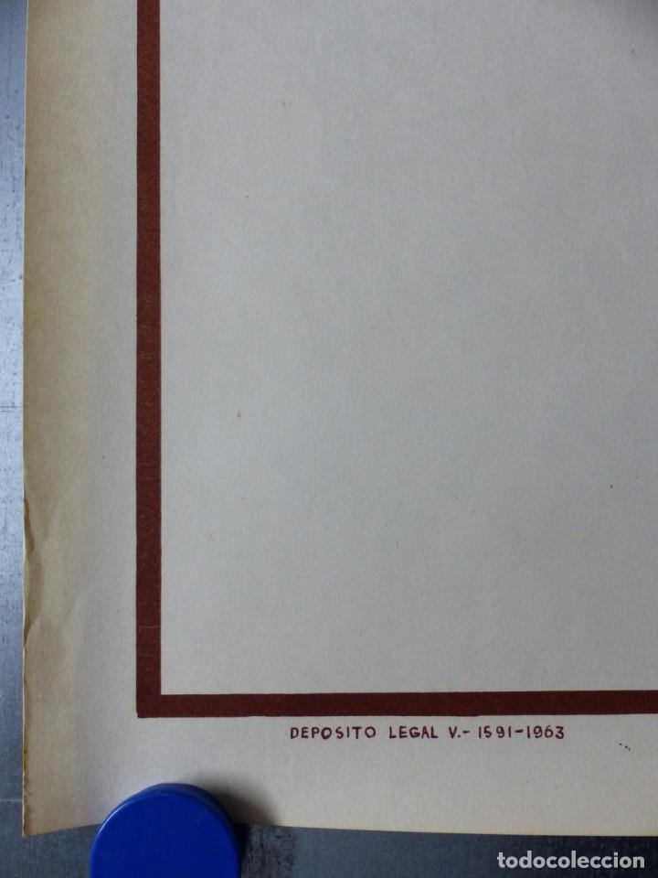 Coleccionismo deportivo: BOXEO Y LUCHA LIBRE - 4 CARTELES LITOGRAFICOS DEL AÑO 1963 - VER FOTOS ADICIONALES - Foto 15 - 234486760