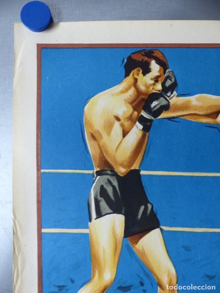 Coleccionismo deportivo: BOXEO Y LUCHA LIBRE - 4 CARTELES LITOGRAFICOS DEL AÑO 1963 - VER FOTOS ADICIONALES - Foto 17 - 234486760
