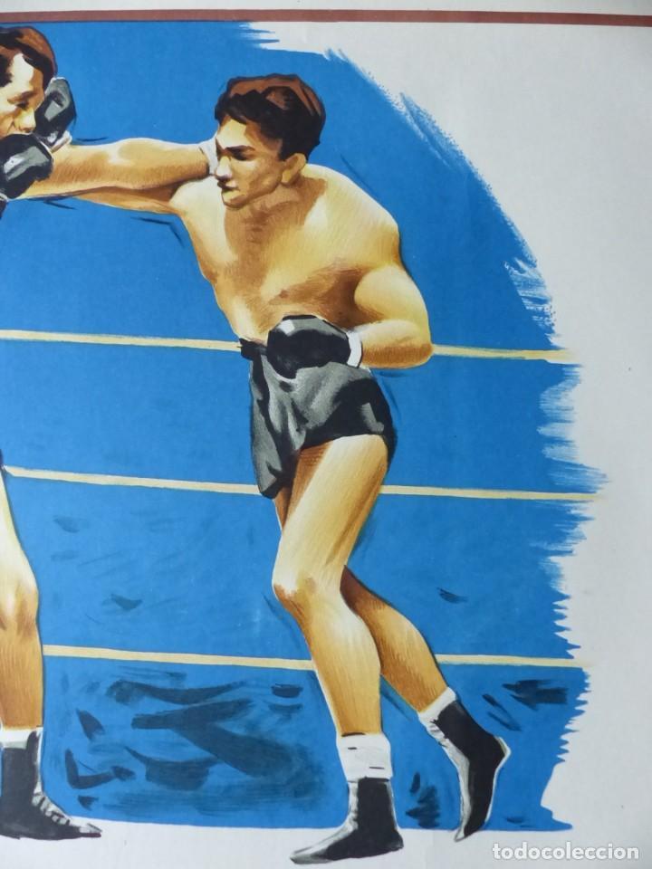 Coleccionismo deportivo: BOXEO Y LUCHA LIBRE - 4 CARTELES LITOGRAFICOS DEL AÑO 1963 - VER FOTOS ADICIONALES - Foto 20 - 234486760