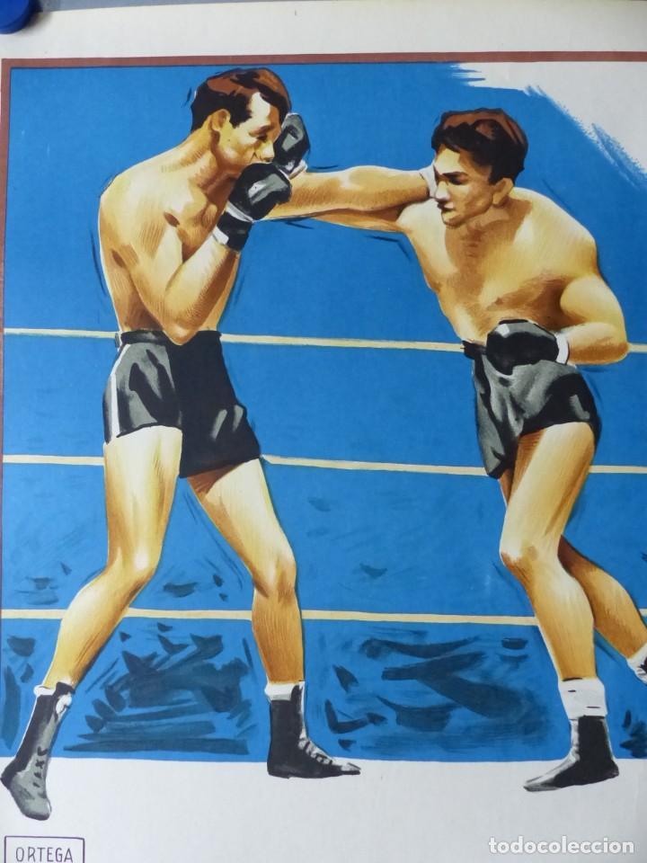 Coleccionismo deportivo: BOXEO Y LUCHA LIBRE - 4 CARTELES LITOGRAFICOS DEL AÑO 1963 - VER FOTOS ADICIONALES - Foto 21 - 234486760