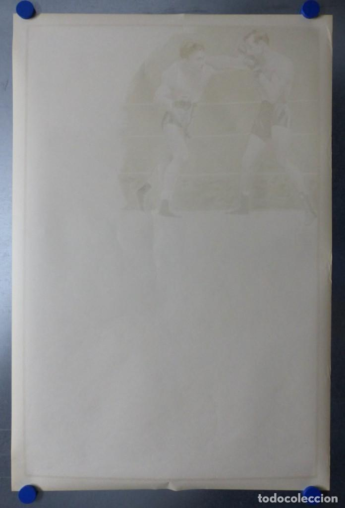 Coleccionismo deportivo: BOXEO Y LUCHA LIBRE - 4 CARTELES LITOGRAFICOS DEL AÑO 1963 - VER FOTOS ADICIONALES - Foto 22 - 234486760