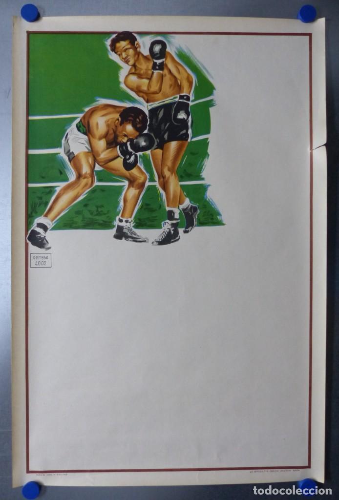 Coleccionismo deportivo: BOXEO Y LUCHA LIBRE - 4 CARTELES LITOGRAFICOS DEL AÑO 1963 - VER FOTOS ADICIONALES - Foto 23 - 234486760