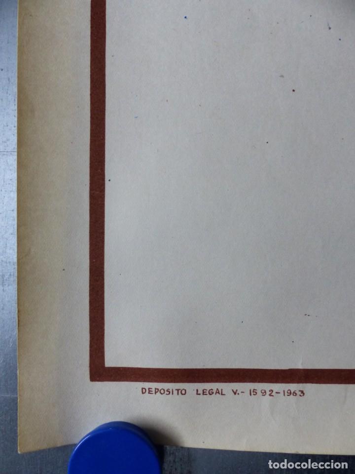 Coleccionismo deportivo: BOXEO Y LUCHA LIBRE - 4 CARTELES LITOGRAFICOS DEL AÑO 1963 - VER FOTOS ADICIONALES - Foto 24 - 234486760