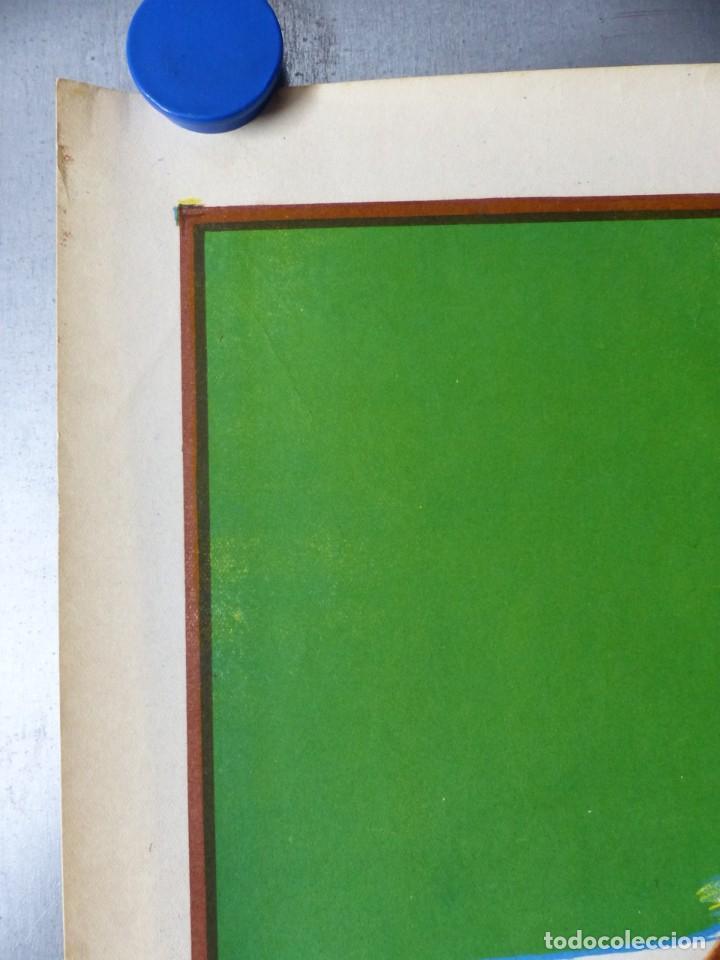 Coleccionismo deportivo: BOXEO Y LUCHA LIBRE - 4 CARTELES LITOGRAFICOS DEL AÑO 1963 - VER FOTOS ADICIONALES - Foto 26 - 234486760