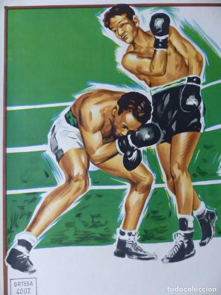 Coleccionismo deportivo: BOXEO Y LUCHA LIBRE - 4 CARTELES LITOGRAFICOS DEL AÑO 1963 - VER FOTOS ADICIONALES - Foto 31 - 234486760